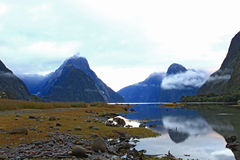 Milford sound New Zealand Stock Images