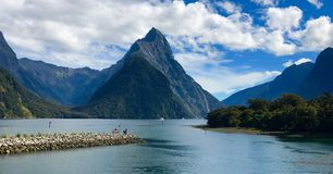 Free Milford Sound New Zealand Mountains Stock Images - 163296304