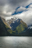 Milford Sound, New Zealand. Milford Sound, south island in New Zeland. Beautiful landscape Stock Photos