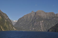 Milford Sound New Zealand Stock Photography