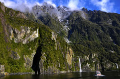 Milford Sound, Nouvelle Zélande Photos stock