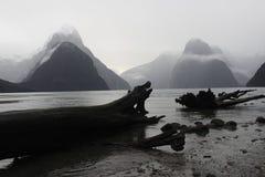 Milford Sound Nouvelle Zélande images libres de droits
