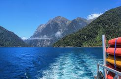 Milford Sound, Nova Zelândia Fotografia de Stock