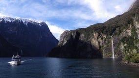 Milford Sound, Nova Zelândia imagens de stock