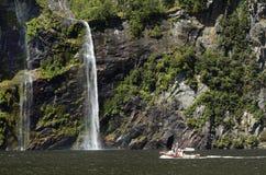 Milford Sound - Nueva Zelanda Foto de archivo