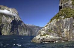 Milford Sound - Nueva Zelandia foto de archivo
