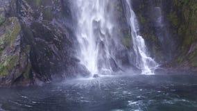 Milford Sound Nueva Zelandia Fotografía de archivo libre de regalías