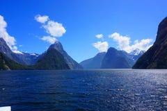Milford Sound, Nueva Zelandia Fotografía de archivo
