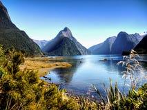 Milford Sound, Nueva Zelandia Fotografía de archivo libre de regalías