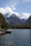 Milford Sound, Nuova Zelanda Fotografie Stock
