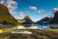 Milford Sound, Nuova Zelanda Fotografia Stock