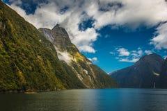 Milford Sound, Nuova Zelanda Immagine Stock Libera da Diritti