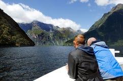 Milford Sound - Nya Zeeland Royaltyfri Foto