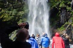 Milford Sound - Nya Zeeland Royaltyfri Fotografi