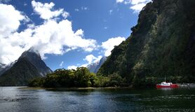 On Milford Sound NZ Stock Photos
