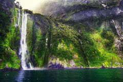 Milford Sounds Royalty Free Stock Photography