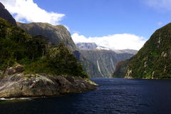Milford sounds (2). Cruising in Milford Sounds New Zealand, 200711 Royalty Free Stock Photography