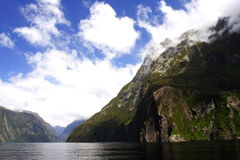 Milford sounds (5) Stock Photos