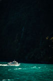 Milford sounds ship Royalty Free Stock Photography