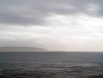 Milford Storm. Milford on Sea, near Lymington, New Forest National Park Royalty Free Stock Photos