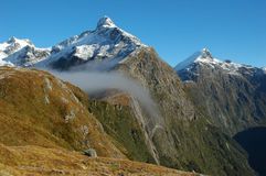 Milford track landscape Royalty Free Stock Photo