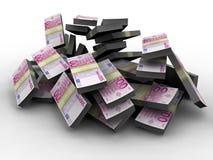Milhão euro ilustração do vetor