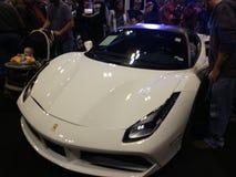 Milhão milhas Ferrari do dólar foto de stock