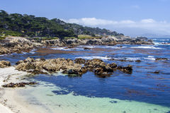17 milhas de movimentação, Monterey Imagens de Stock