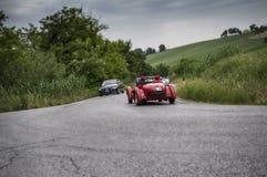 Milhas 2015 do carro mil do vintage da raça Foto de Stock