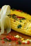 Milho com especiarias Foto de Stock Royalty Free