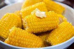 Milho cozinhado imagem de stock