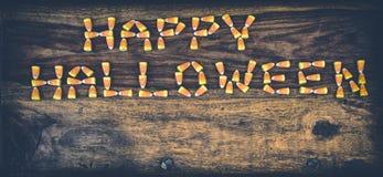 Milho de doces Dia das Bruxas feliz 2 Fotografia de Stock Royalty Free