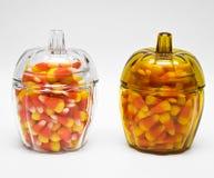 Milho de doces no frasco Fotos de Stock Royalty Free
