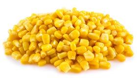 Milho enlatado Foto de Stock