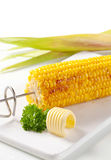 Milho grelhado Imagens de Stock