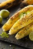 Milho mexicano grelhado delicioso foto de stock