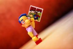 Milhouse Van Houten Imagens de Stock
