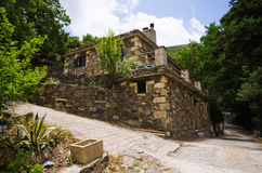Milia - old settlement on Crete, Greece Stock Photo