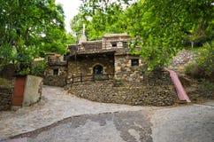 Milia - old settlement on Crete, Greece Stock Photo
