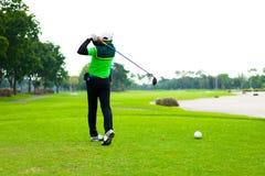 Miliard biznesów z faworyta golfem w wakacjach Zdjęcia Stock