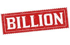 Miliardo segno o bolli royalty illustrazione gratis