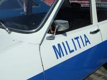 MILICIA 1300 DE DACIA Imagen de archivo libre de regalías