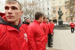 Milicia voluntaria de la juventud Fotos de archivo libres de regalías