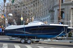 Milicyjny Łódkowaty Paryż Zdjęcie Stock