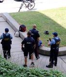 Milicyjny areszta mężczyzna w Kitchener, Waterloo, Ontario fotografia royalty free