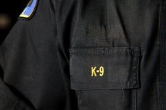 Milicyjny K9 Obrazy Stock
