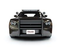 Milicyjny nowożytny samochód Zdjęcie Royalty Free