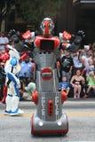 Milicyjny robot Zdjęcia Stock