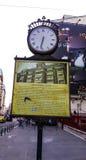 Milicyjny zegar w Bucharest Obrazy Stock