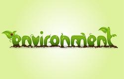 Milieu stock illustratie